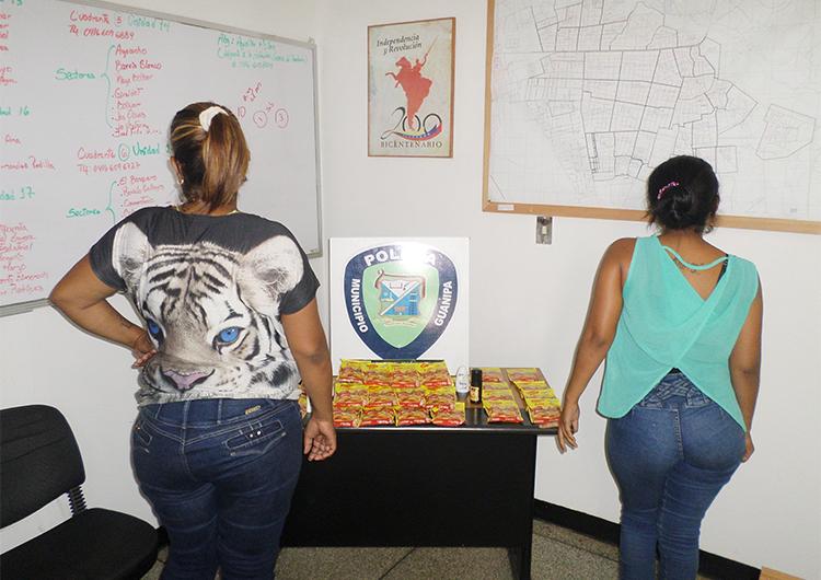 Policías arrestaron a presunto ladrón y dos «bachaqueras»