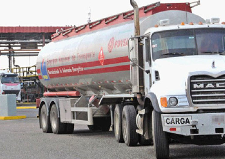 Pdvsa constató distribución de combustible en el país
