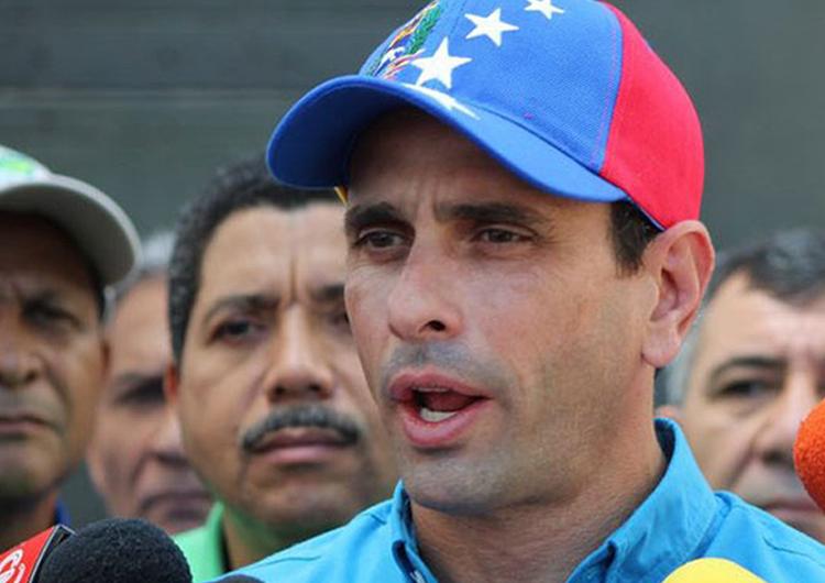 Henrique Capriles: Estamos en lucha de resistencia