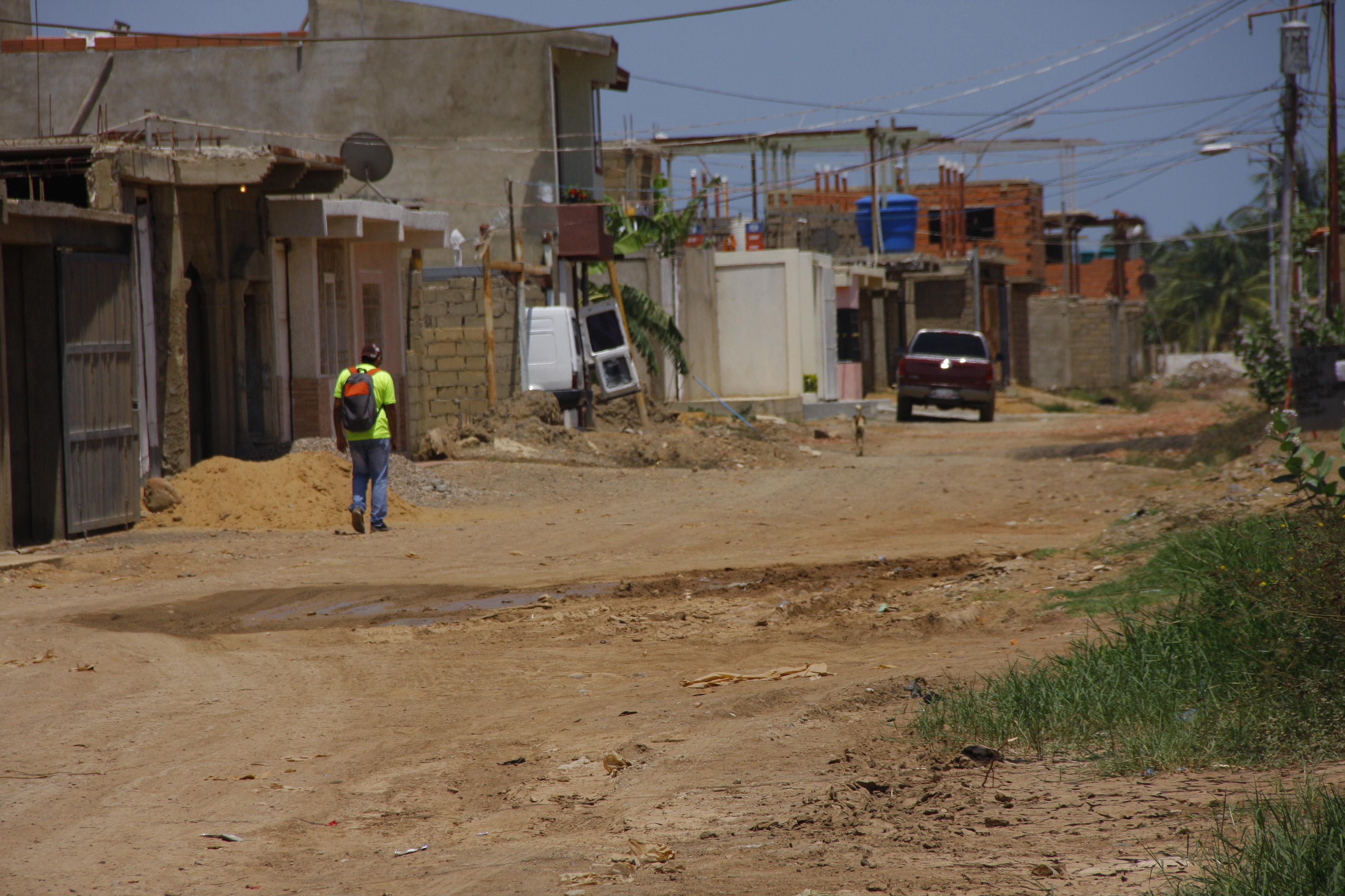 Vecinos se quejaron de la  vialidad en el sector Vista Real