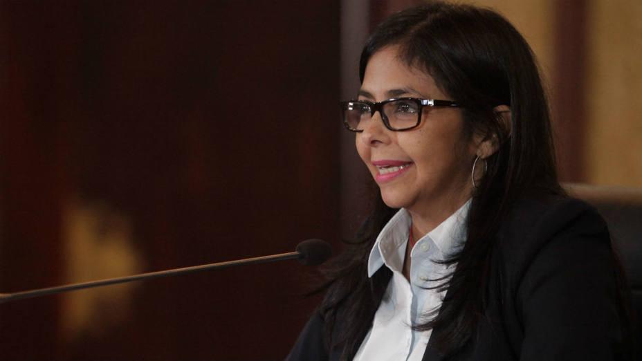 Delcy Rodríguez: Vemos a dirigentes de oposición llamar a la violencia y a la intolerancia