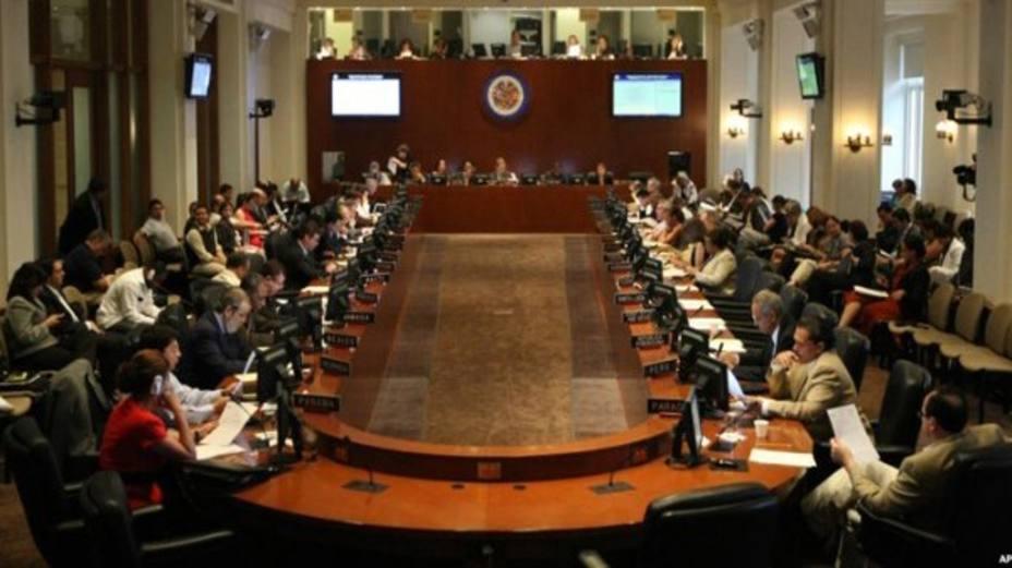 Cancilleres abordarán crisis venezolana en la OEA este miércoles