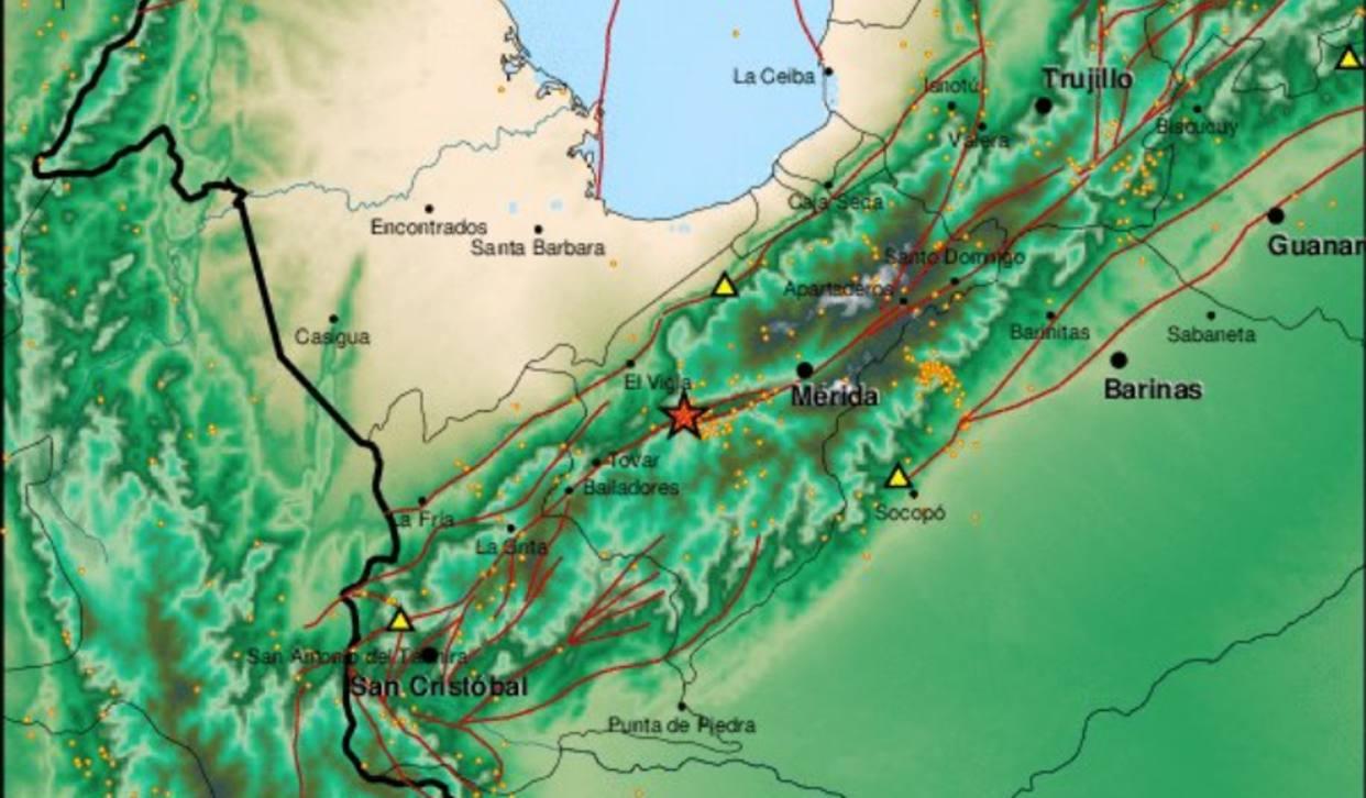 Registraron sismo de 3.8 grados en Mérida