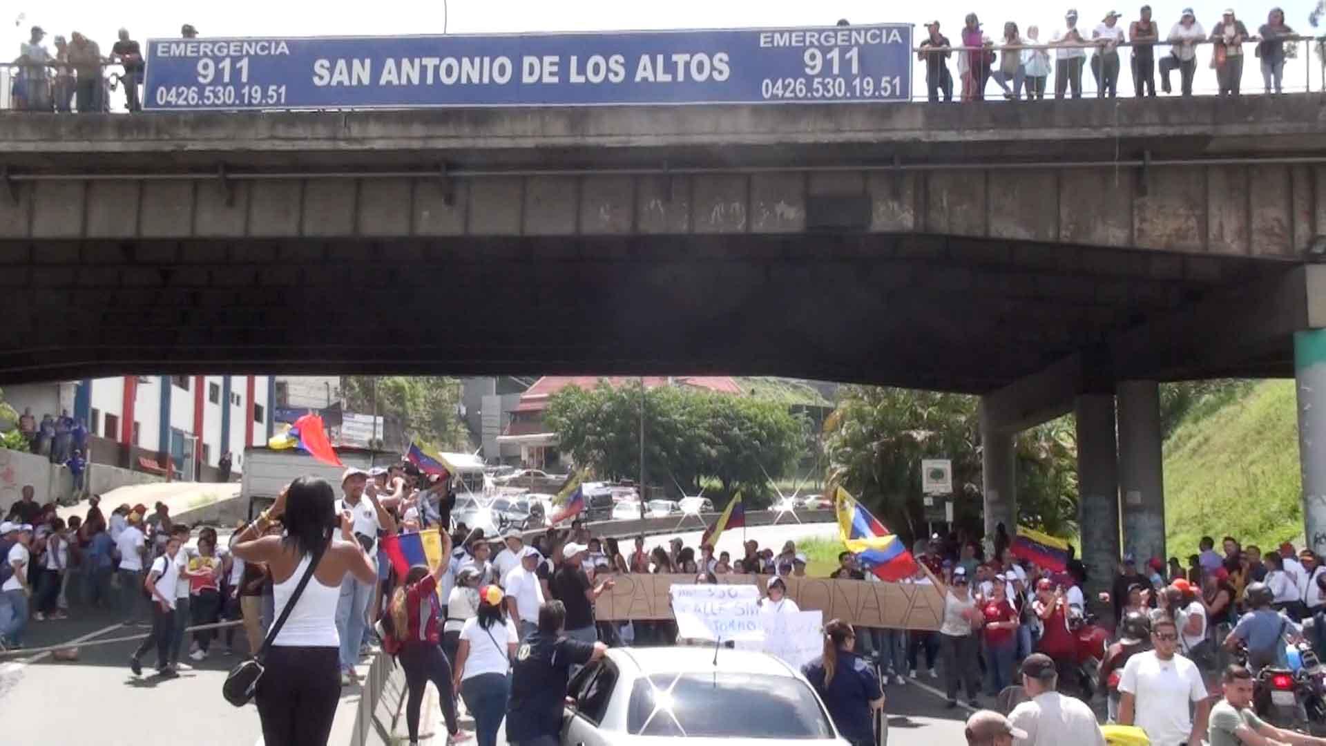 Un muerto y 52 heridos tras protestas en los Altos Mirandinos