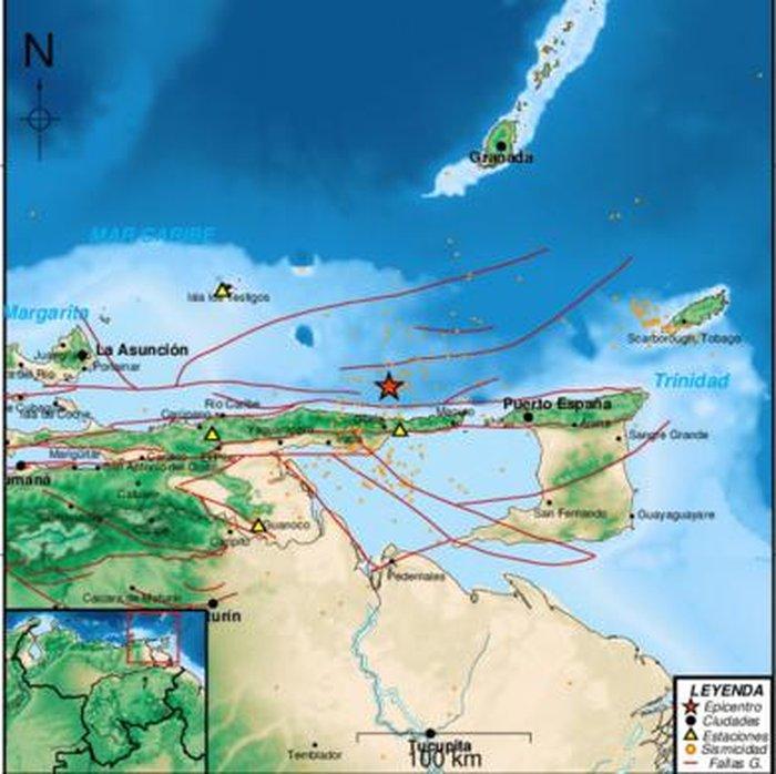 Registran sismo de magnitud 3.0 en el estado Sucre