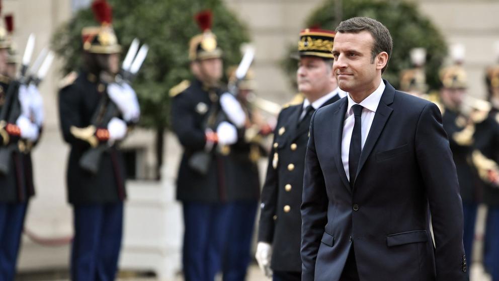 Macron asume la Presidencia de Francia