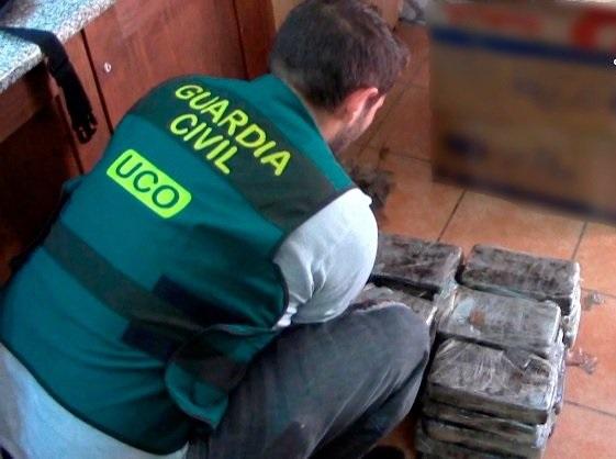 Banda traficaba drogas a España desde Venezuela