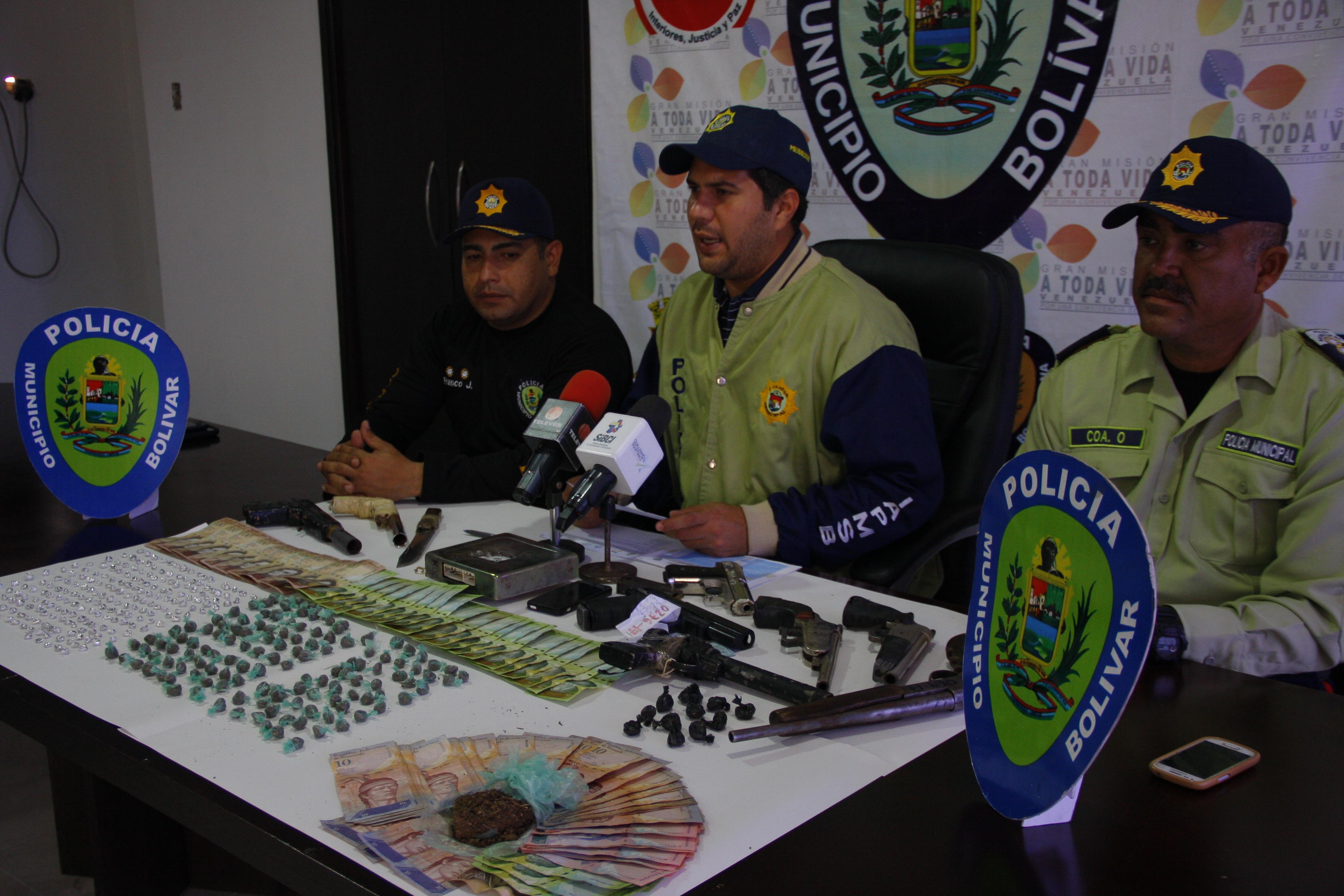 Funcionarios desmantelaron  tres organizaciones delictivas