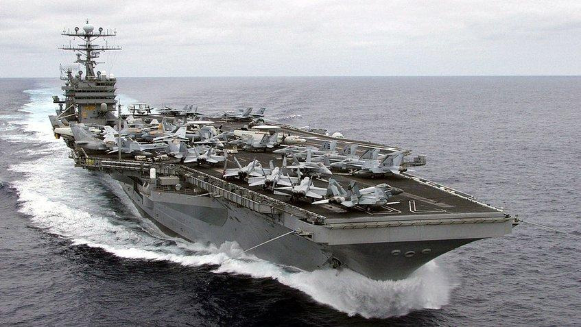 Estados Unidos despliega otro portaaviones nuclear cerca de la península de Corea