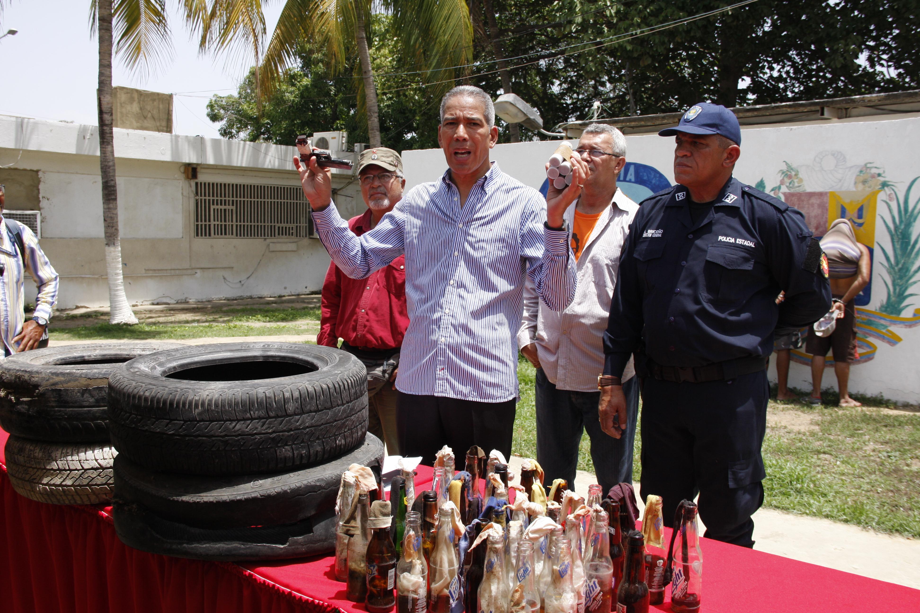 Moreno: Hampa participa en  protestas