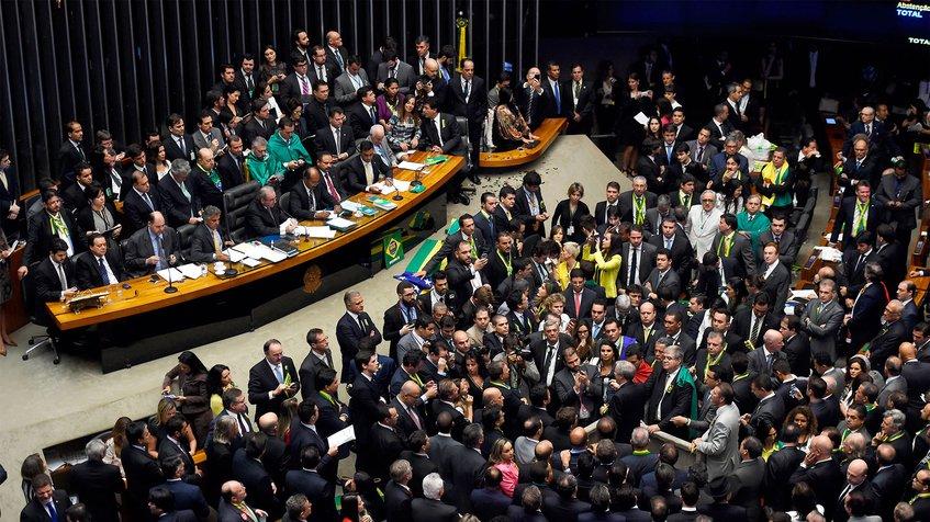 Congreso de Brasil suspendió discusión sobre Venezuela por situación de Temer