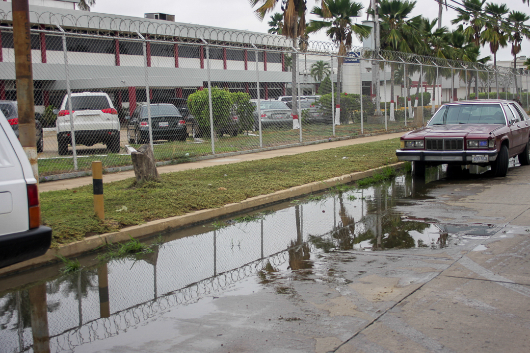 Zona industrial no está apta para temporada de lluvias