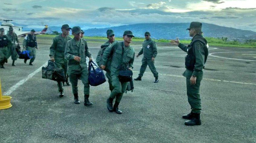 Efectivos llegaron a Táchira para activar Plan Zamora