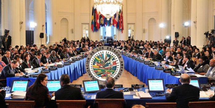 OEA realizará reunión de cancilleres sobre Venezuela el 31 de mayo