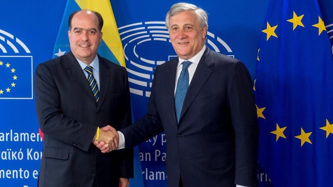 Julio Borges expuso situación de Venezuela ante el Parlamento Europeo