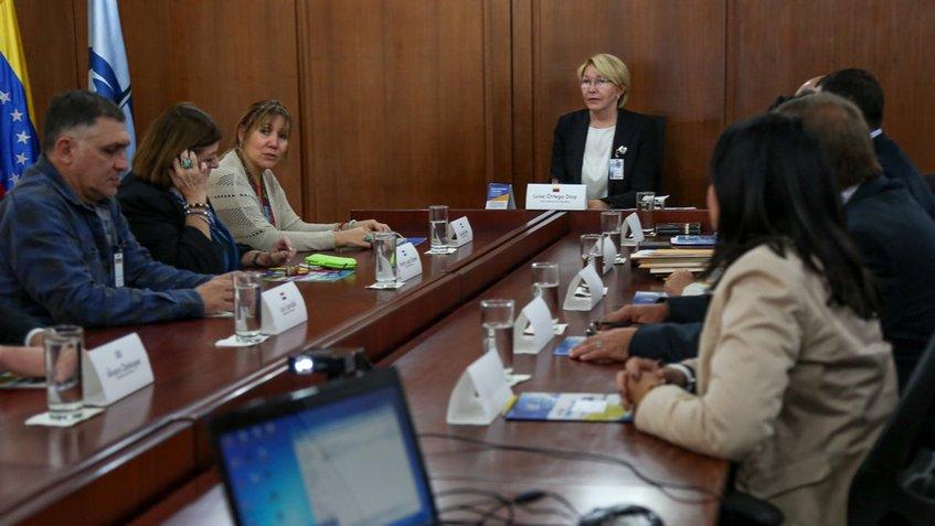 Ortega Díaz se reunió con diputados del Parlasur