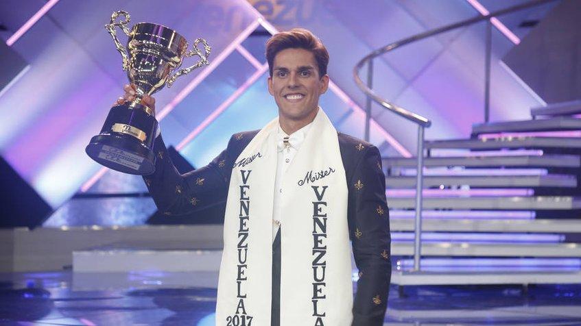 Cristian Nunes se convirtió en el Míster Venezuela 2017