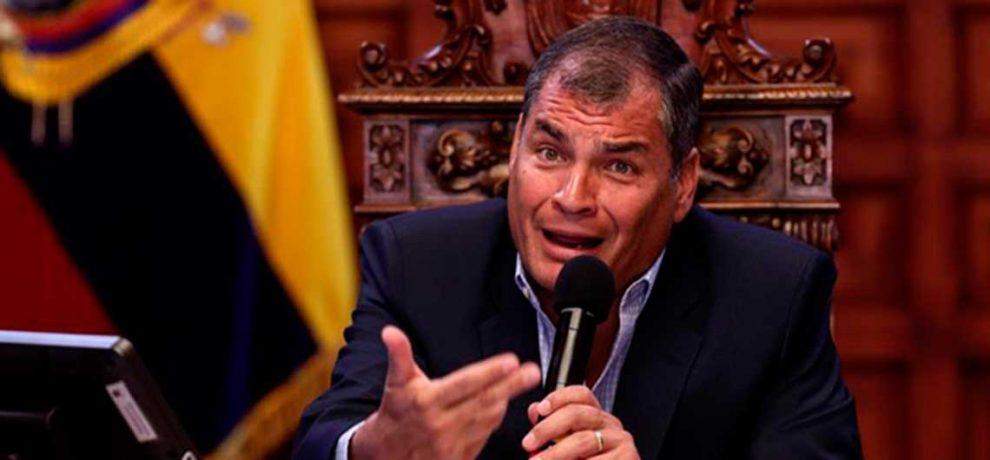 Rafael Correa negó  haber ocultado hechos de corrupción