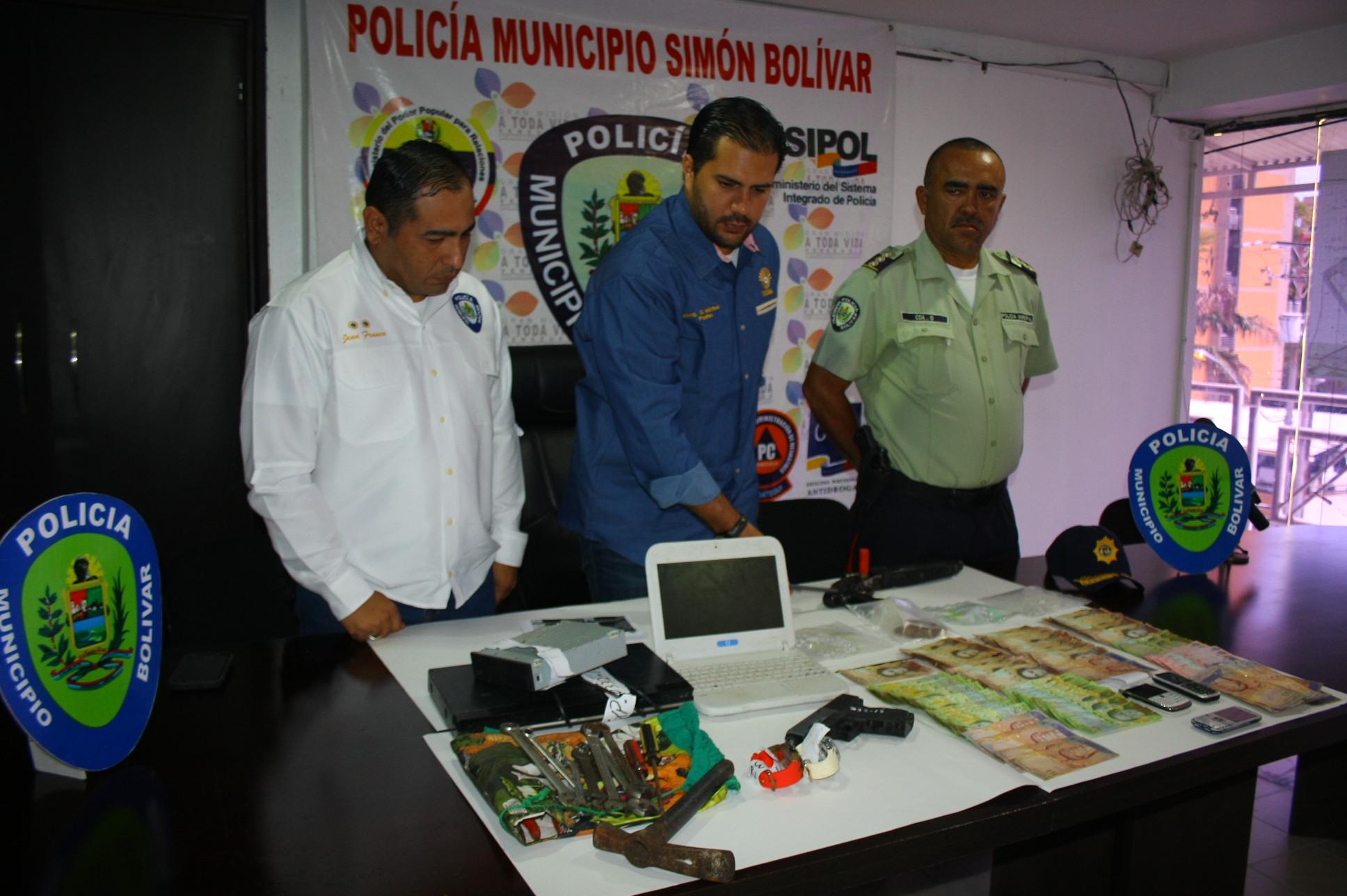 Polibolívar aprehendió a más  de 100 sujetos durante mayo