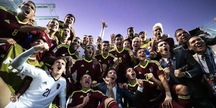 Venezuela recibirá hoy a sus Campeones Vinotinto
