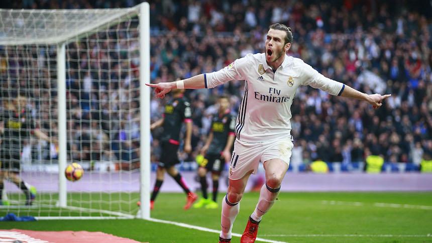 Bale regresó a las prácticas del Madrid