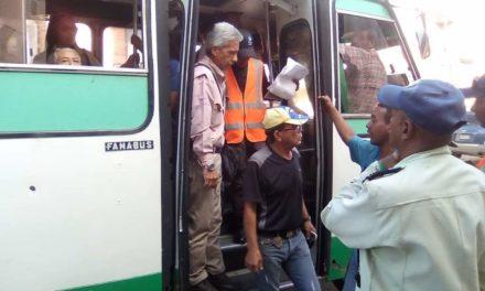 Supervisan transporte público de la zona norte del estado