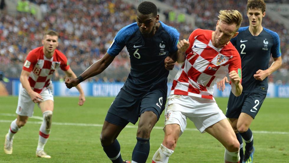 Francia-Croacia, la final con más goles desde 1966