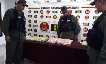 GNB Anzoátegui incautó Bs. 1.2 millardos en efectivo