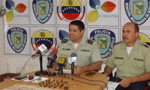 Polisotillo capturó a un hombre con presunta droga