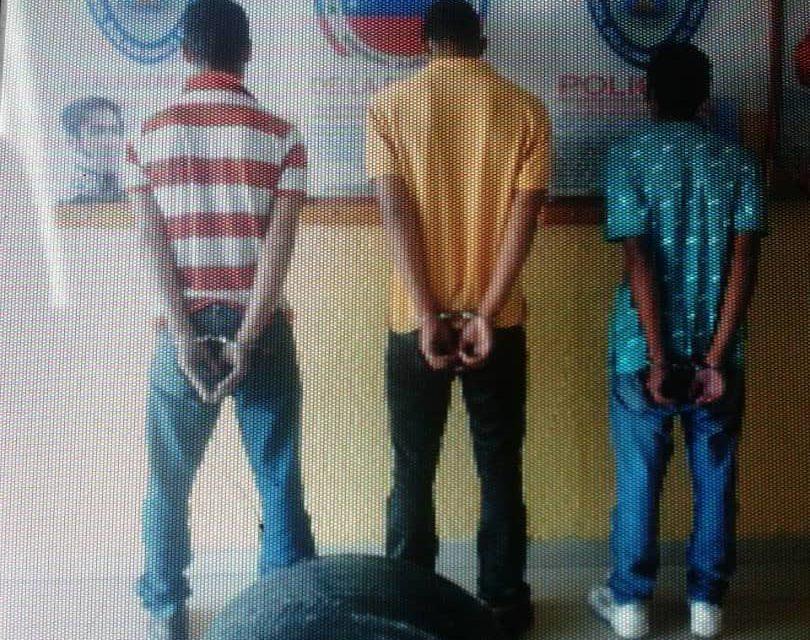 Capturan a cuatro hombres por hurto en Lechería