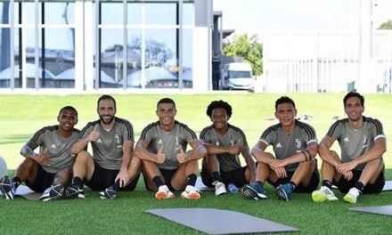 Cristiano Ronaldo ya entrena con la Juventus