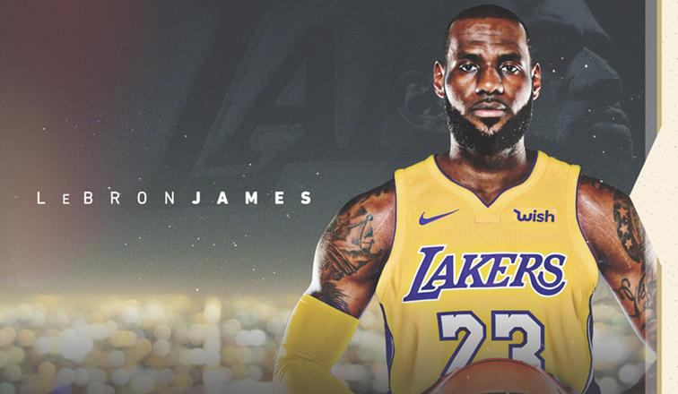 Los Lakers oficializaron a LeBron