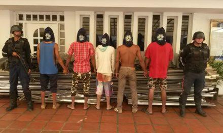 "Polibolívar desmanteló banda ""Los Latoneros"""