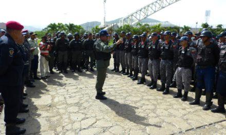 Deplegados 350 oficiales en Cuadrante 1