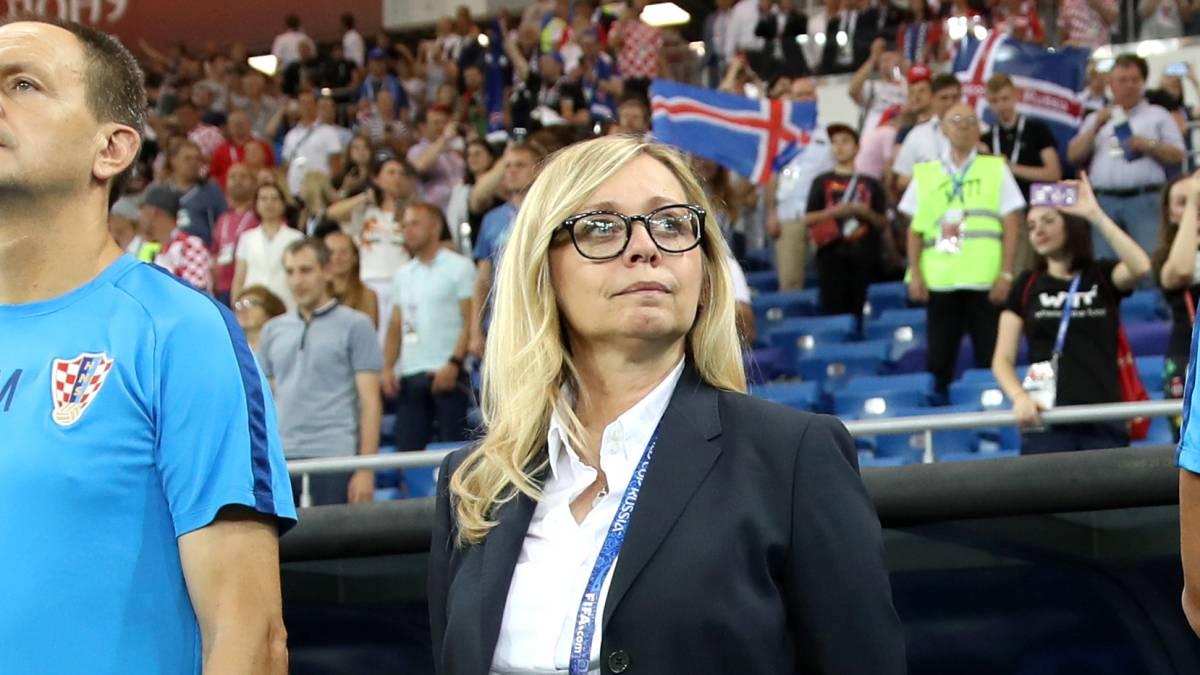 """La """"Tía Iva"""" hizo historia en el Mundial"""
