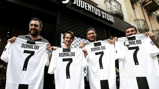 """Cristiano dejó fuera de servicio tienda """"on line"""" de la Juve"""