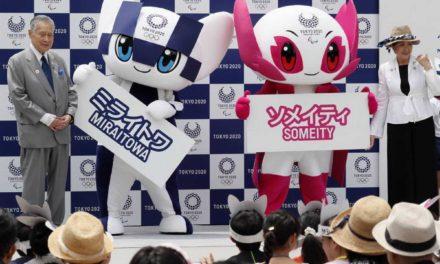 Tokio 2020 presentó a sus mascotas oficiales