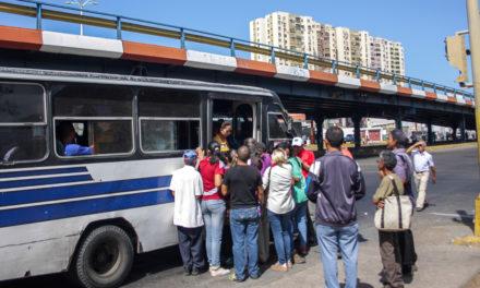 Choferes quieren tarifa de pasaje entre 50 y 100 mil bolívares