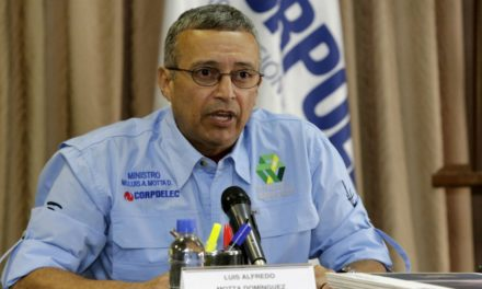 Motta Domínguez precisó que el apagón de Caracas abarcó un 80% por una falla