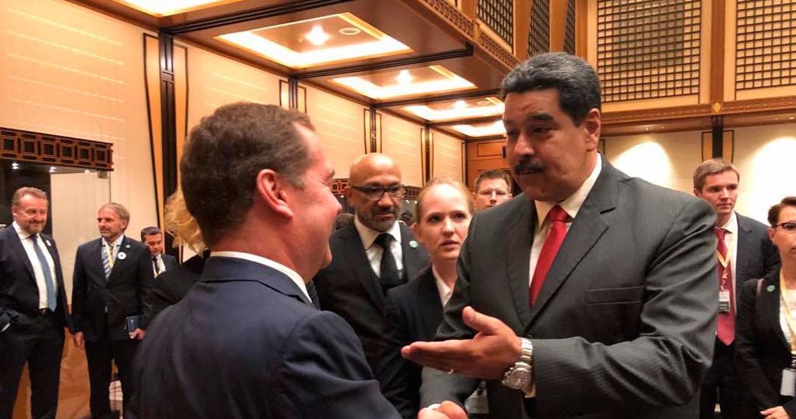 Maduro designó a Tareck El Aissami como jefe de la Comisión mixta entre Venezuela y Rusia