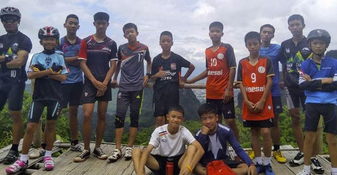 Rescatados todos los niños y el entrenador atrapados en la cueva de Tailandia