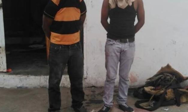 Dos sujetos fueron detenidos por robo de 200 kilos de carne