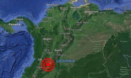 Sismo de 5,2 de magnitud sacude al centro de Colombia
