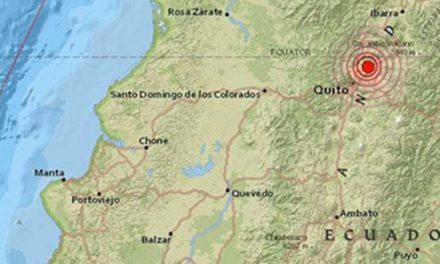 Un sismo de magnitud 4,5 sacude a Ecuador