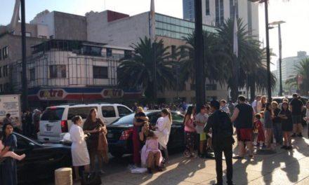 Sismo de 5.9 grados alarma a México  y al centro del país
