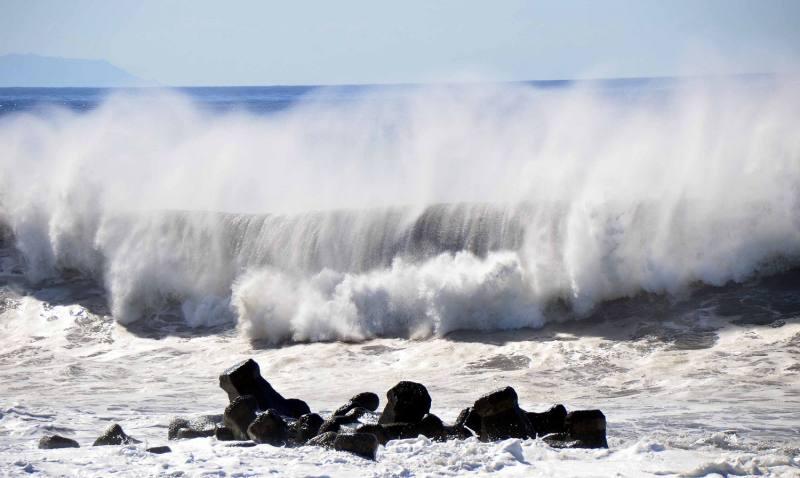 Tifón María causa desastres en Taiwán  y China