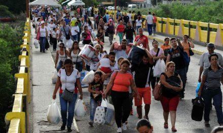 EE.UU. dará seis millones de dólares a  Colombia para atender éxodo venezolano
