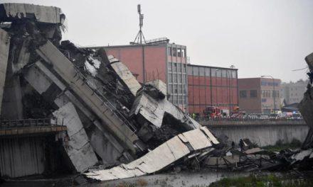 22 muertos dejó el derrumbe del viaducto en Génova