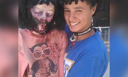 Joven estadounidense se casará con su espeluznante muñeca zombi