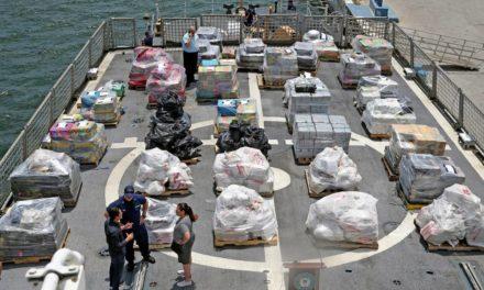 EE.UU. arresta a siete venezolanos con drogas en aguas del Caribe